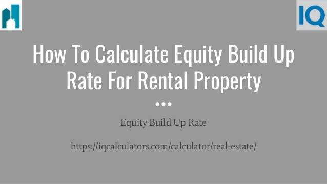 how to calculate equity